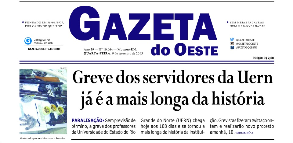 gazeta do OESTE
